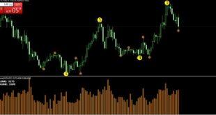 Tick Chart Volume Indicator